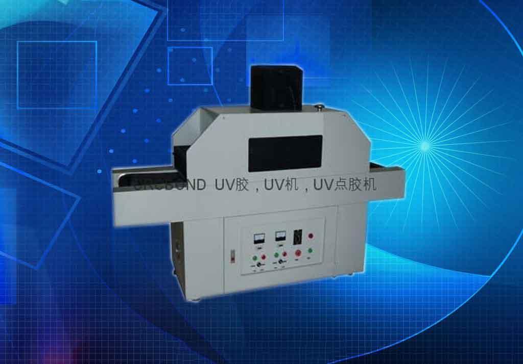 双灯管双面固化UV炉