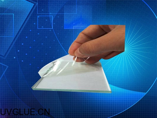 CRCBOND UV胶水U-3400可剥离临时保护暂时粘结表面保护UV无影胶水