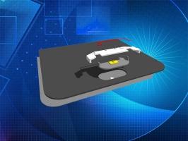 CRCBOND U-6200手机HOME键粘结固定UV无影胶水
